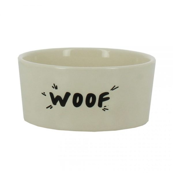 """Woof"" Dog Bowl"