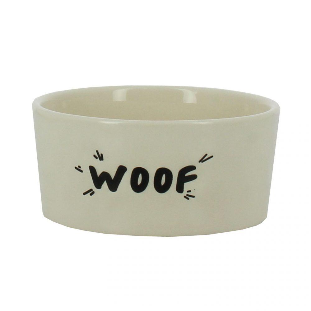 """Woof"" Dog Bowl"